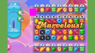 Candy Crush Jelly Saga - Level 42 - Nivel 42 - no boosters