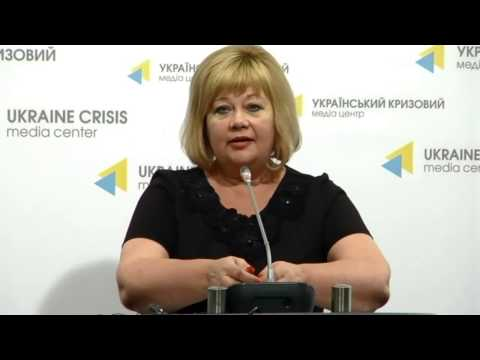 Presentation of advisers for IDPs issues. Ukraine Crisis Media Center, 26th of August 2015