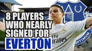 8 Players Who Nearly Signed For Everton