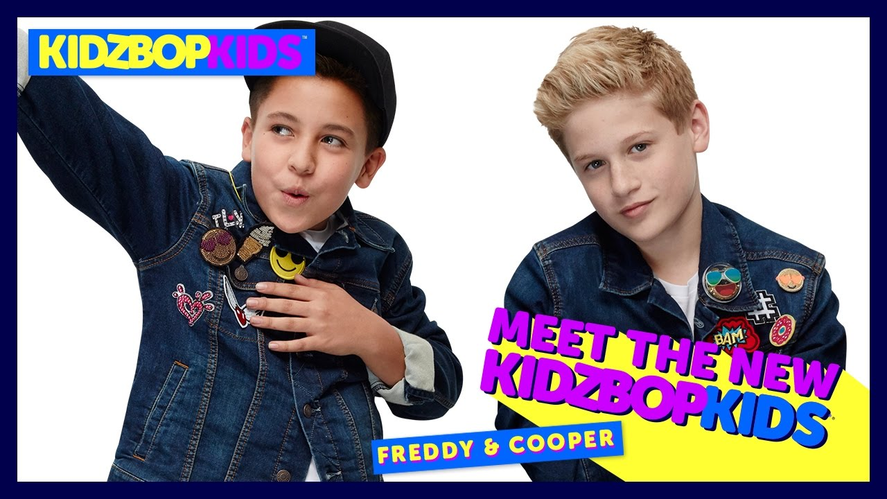 Meet The New Kidz Bop Kids Freddy Cooper Youtube