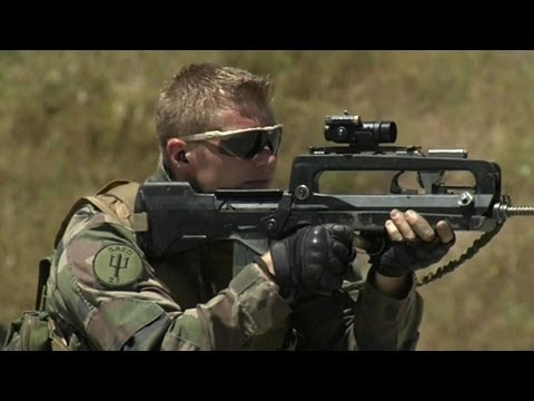 Focus sur le régiment d'infanterie de marine 21e Rima de Fréjus - 11/07