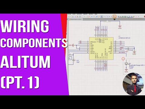 Wiring Components Part 1 - Altium Designer [ Arduino PCB Course