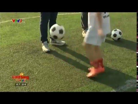 Dạy đá bóng kết hợp giao tiếp Tiếng Anh – Trung tâm bóng đá cộng đồng Fireball – 0979121097