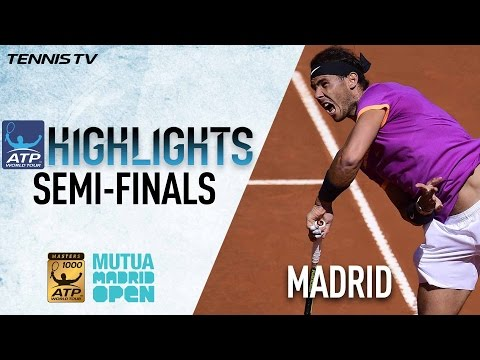 Madrid Saturday Highlights: Nadal, Thiem Advance To Madrid 2017 Final