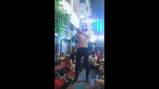 رقص جامد اوي اقسم بالله | رقص ناصر الوحداني 2019| (مهرجان ) الشيطان شدني ع الحرب رايح ومش خايف