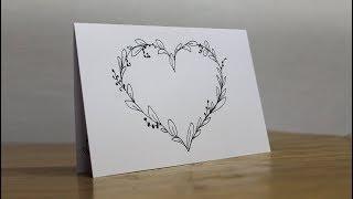 Easy Handmade Greeting Card - Beautiful Birthday Card Ideas