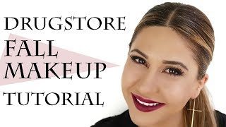 How To Get a Fall Makeup Look Using Drugstore Products