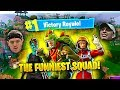 THE FUNNIEST SQUAD EVER IS BACK! (Fortnite Battle Royale Funny Moments)