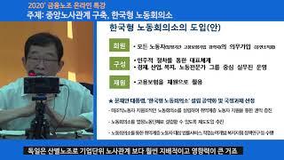 200513 금융노조 온라인 교육특강 제1강 『한국형 …
