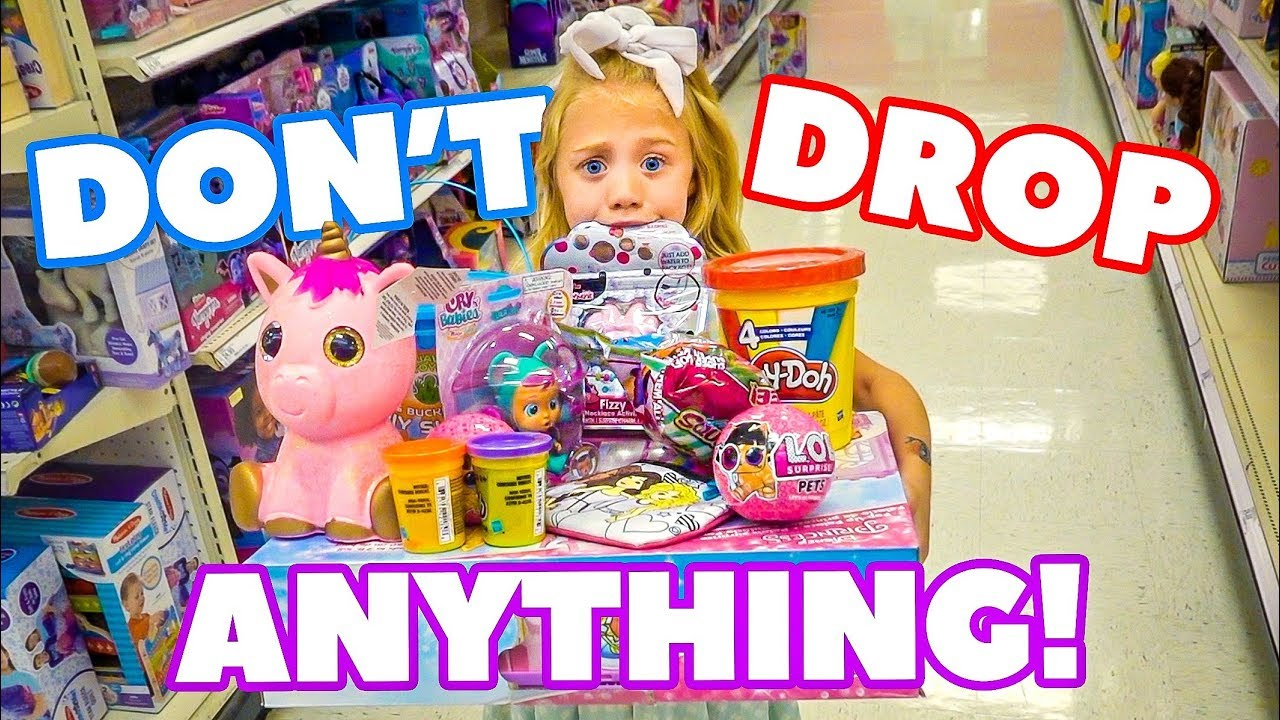 Download Anything 6 Year Old Everleigh Can Carry, We'll Pay For!!! - Challenge