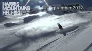 Ski New Zealand, Southern Alps, Harris Mountain Heliski, 18th September 2012 presented by LUEX.com
