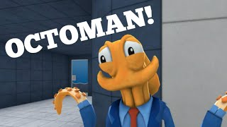OCTOMAN! - Sir Gamer & Friend Octodad Funny Moments