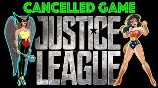 Cancelled Justice League Game FINALLY revealed - LEGO it is not...