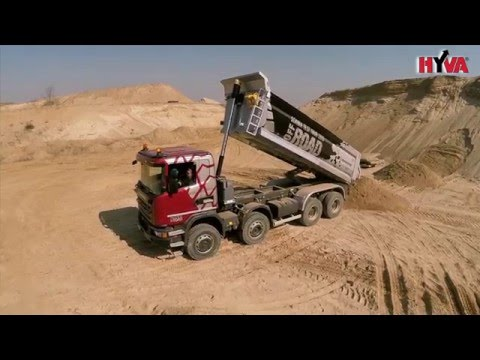 Scania Off-Road Test Tour  tipper 8x6