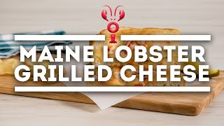 How To Make Lobster Grilled Cheese   Maine Lobster Now Signature Recipe