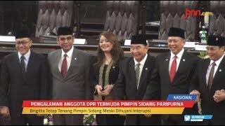 Trik Hillary Brigitta Lasut Redam Interupsi Paripurna MPR - JPNN.com