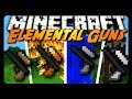 Minecraft Mod Review: ELEMENTAL GUNS!