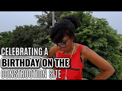 This Is How We Celebrate Birthdays On The Building Site | Building Our Dream Home In Ghana