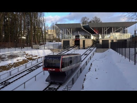 Luxembourg's new funicular