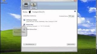 FreeAgent Desktop 1.5 Backup: Restoring the Most Recent Version of Backed Up Files XP