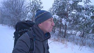 Нашел в лесу дом, хозяева в спешке его оставили... Зимняя сказка, изба в тайге, поход в лес.