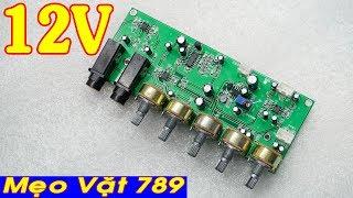 Mạch micro karaoke 12V đơn V2 (Zalo 0355 774 789)
