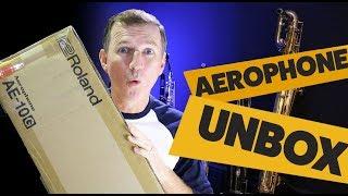 Roland Aerophone AE-10G Unboxing