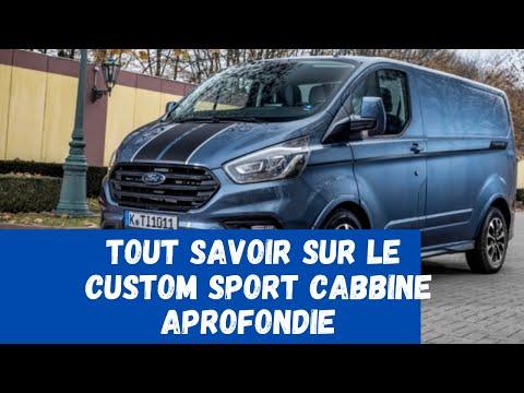 CUSTOM SPORT CABBINE APROFONDIE 170ch 2019