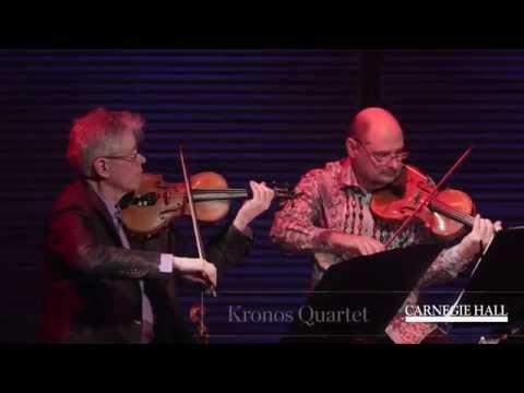 "Carnegie Hall Kronos Quartet Workshop: Performance of Wu Man's ""Four Chinese Paintings"""
