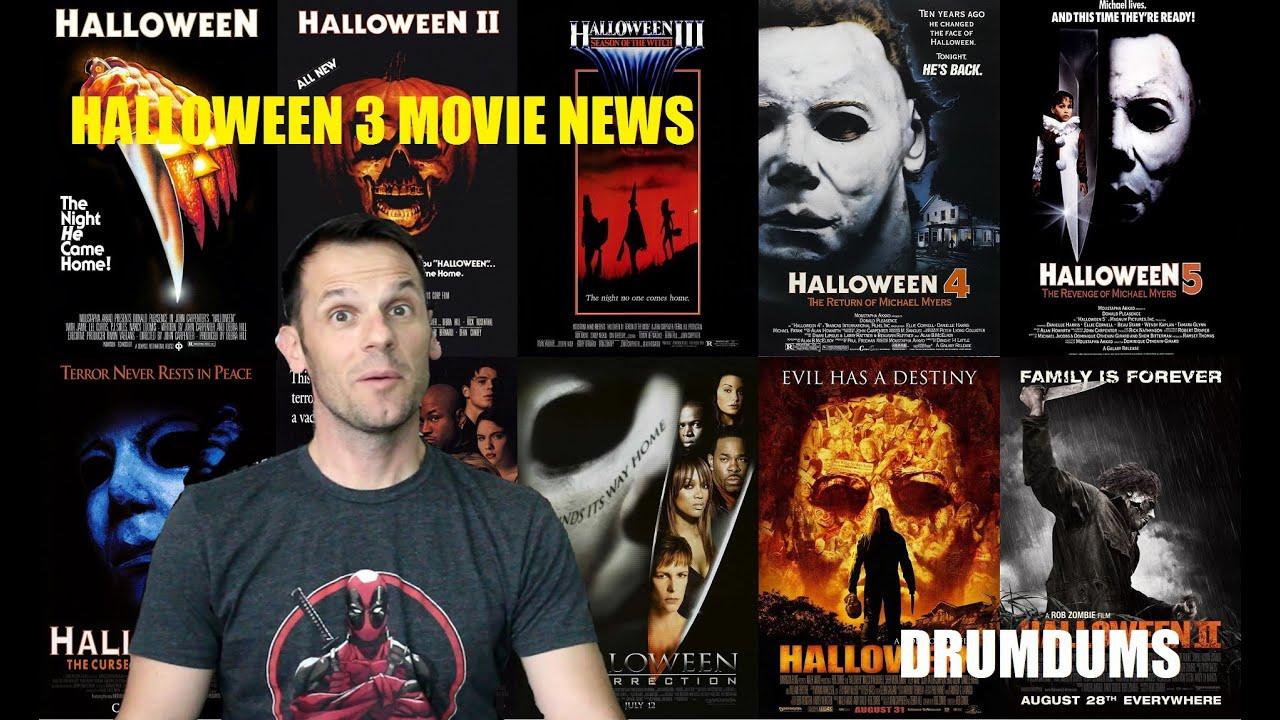 Halloween Returns Movie News! (Feb 2015) - YouTube
