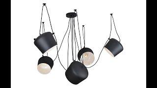 Обзор подвесной люстры Lussole Loft Katty LSP-9919 от ВамСвет.Ру