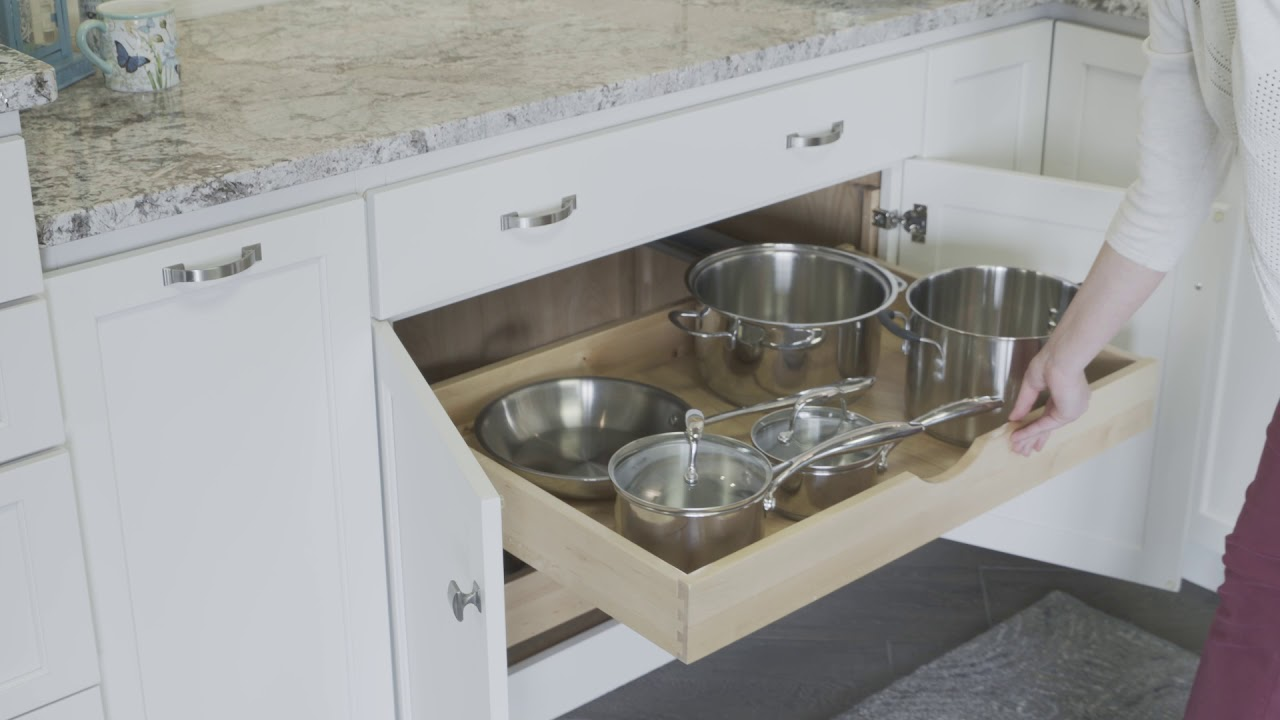 Base Roll Out Trays from Fieldstone Cabinetry