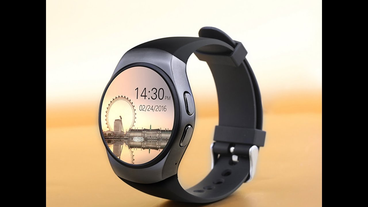 KW18 Smartwatch IOS MediaTeck Smartwatch App
