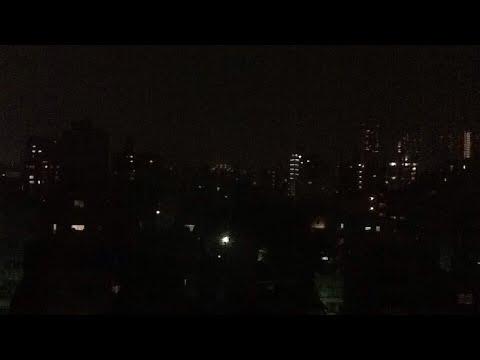 Typhoon in Koto-ku, Tokyo