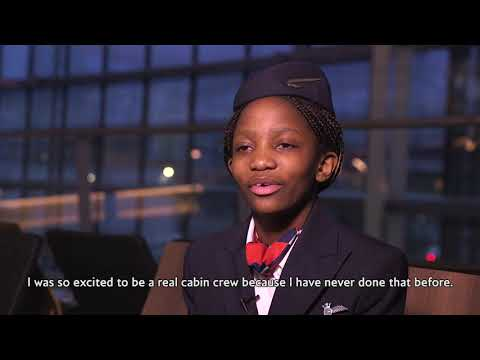 British Airways Makes Young Girl