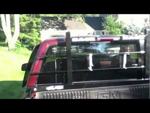 Installing a Back Rack on my 1997 Silverado - YouTube