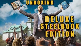 FAR CRY 5 (PS4) DELUXE STEELBOOK EDITION Unboxing