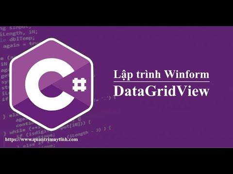 Lập trình C# winform - DataGridView