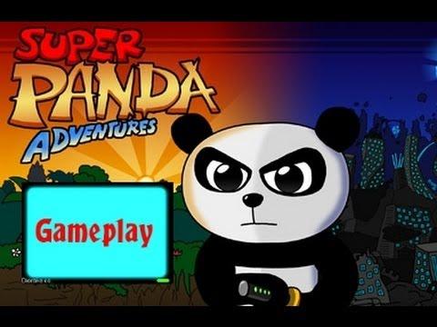 Super Panda Adventures - Gameplay |