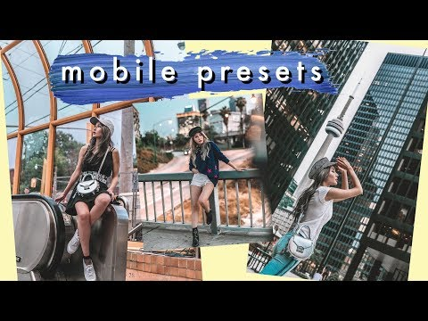 How to Install + Use Mobile Presets - Using Atsuna Presets