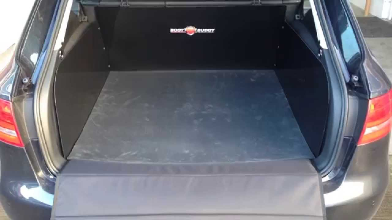 Audi A4 Avant 2014 Boot Buddy Car Boot Liner Product Breakdown Youtube