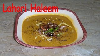 Spicy & Tasty Lahori Chicken Haleem | Haleem Recipe | Pakistani
