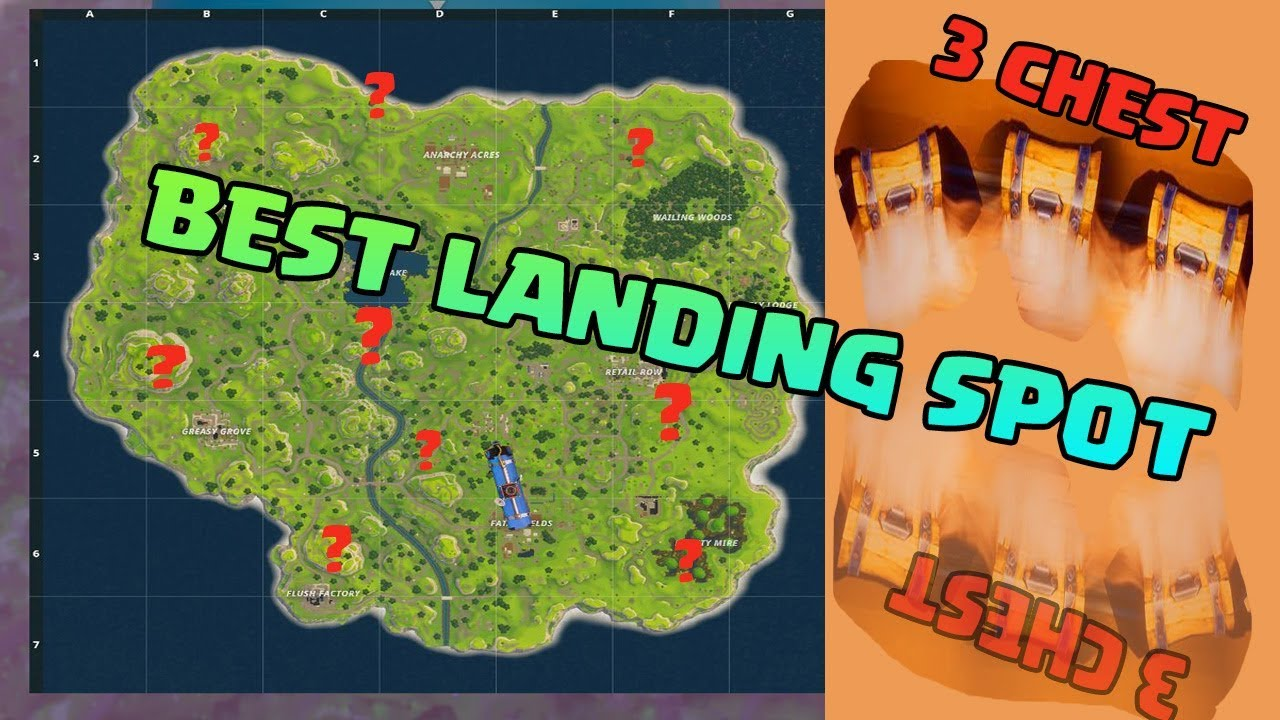 Top Places To Find The Best Loot: FORTNITE BATTLE ROYALE -- Balkan