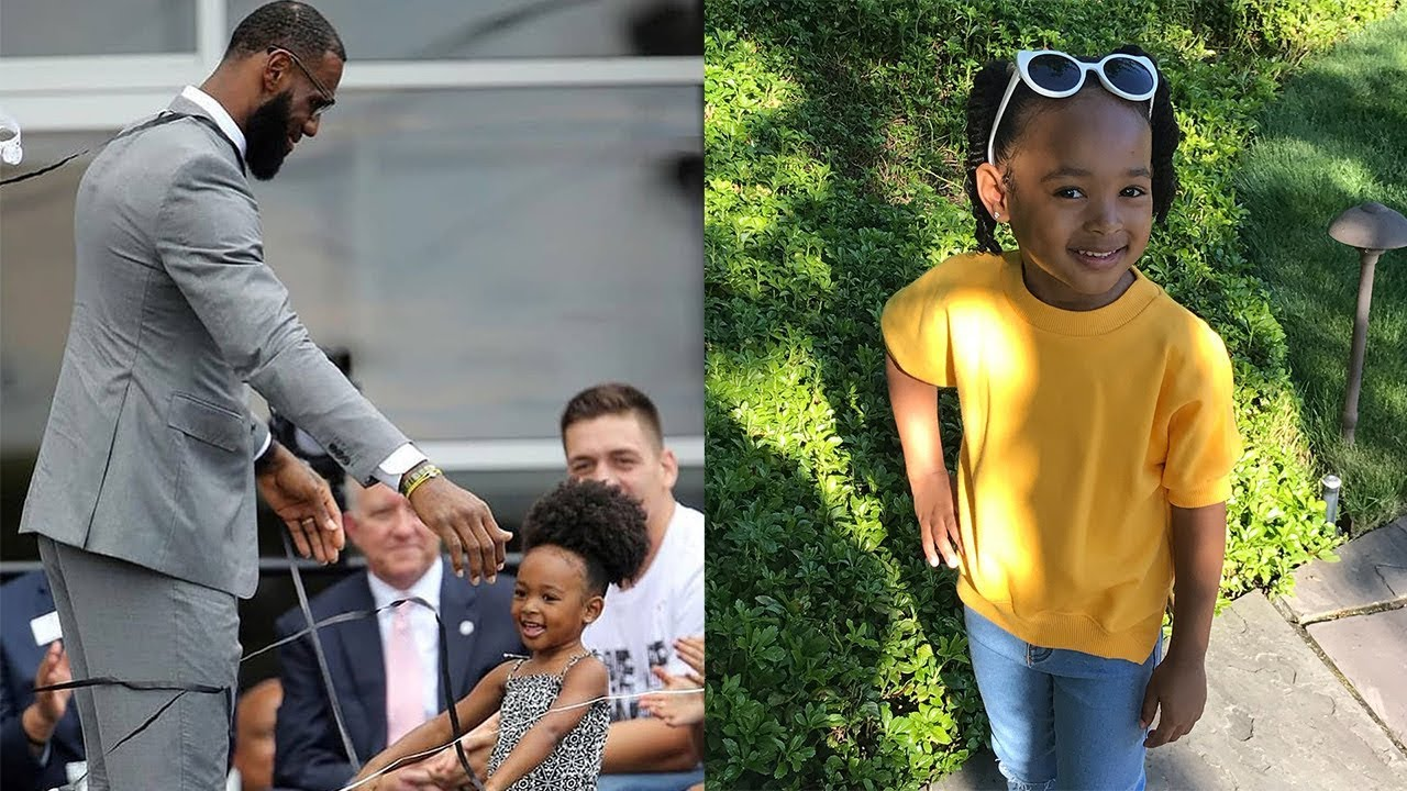 LeBron's Daughter Zhuri James CRIBS 5.0 And Host Of Harlem's Fashion Row Recital