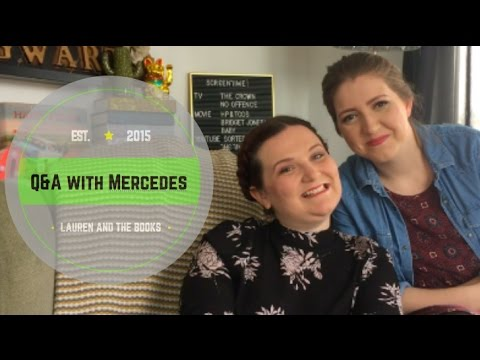 Q&A with Mercedes | Lauren and the Books