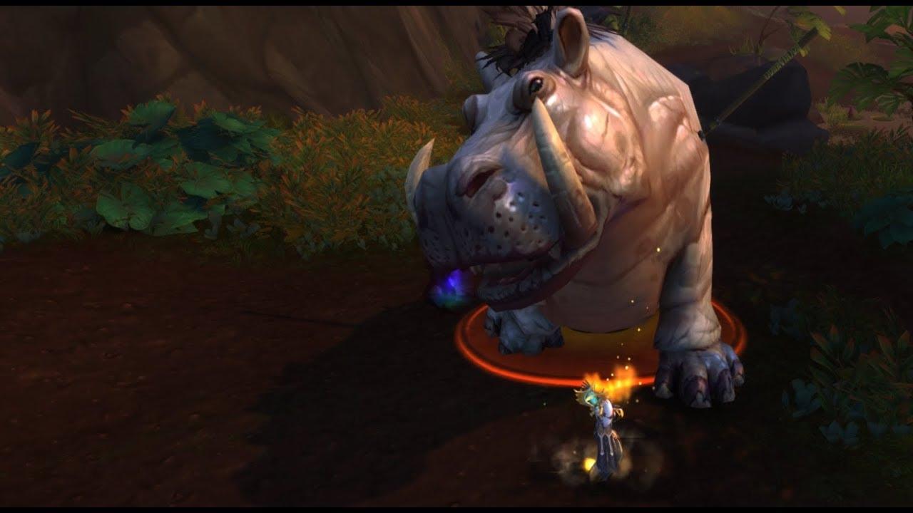 BfA | Discipline Priest let's play part.8 |  Hippopotamus or Boar?