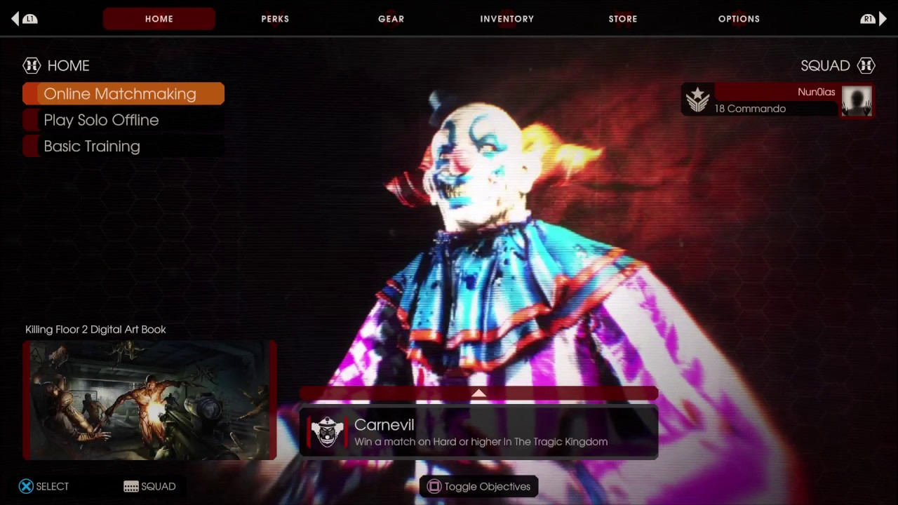 Killing Floor 2 New Music,summer Sideshow,main Menu