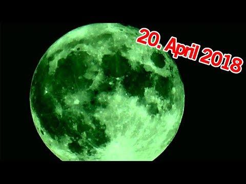 Erscheint HEUTE der Mond grün? 20. April 2018 | MythenAkte