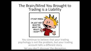 Emotional Self Mastery  Building the Rock Solid Trading Mind that Manages Risk