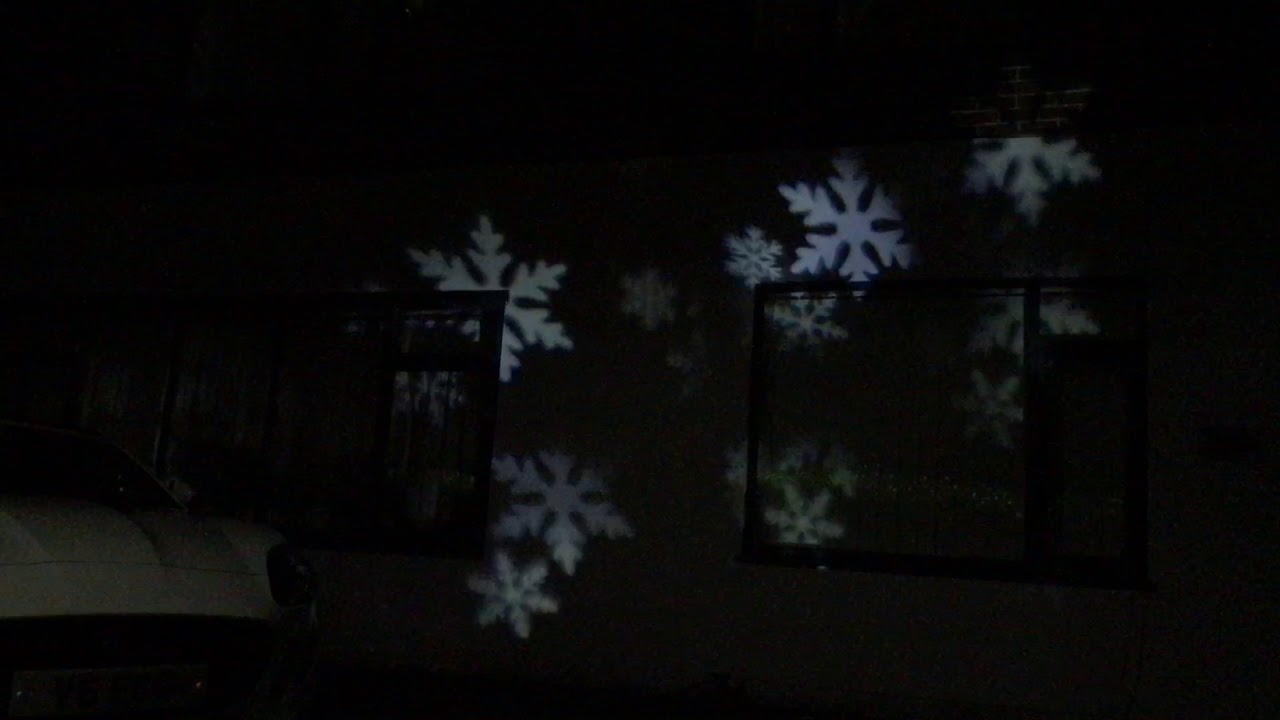 Outdoor Ice White Magical LED Snow Fall Box Projector & Outdoor Ice White Magical LED Snow Fall Box Projector - YouTube Aboutintivar.Com